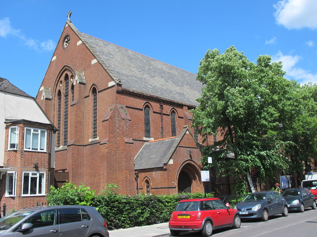 The Parish Church of St. Olave, Woodberry Down, N4