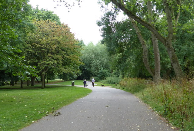 Path through Knighton Park