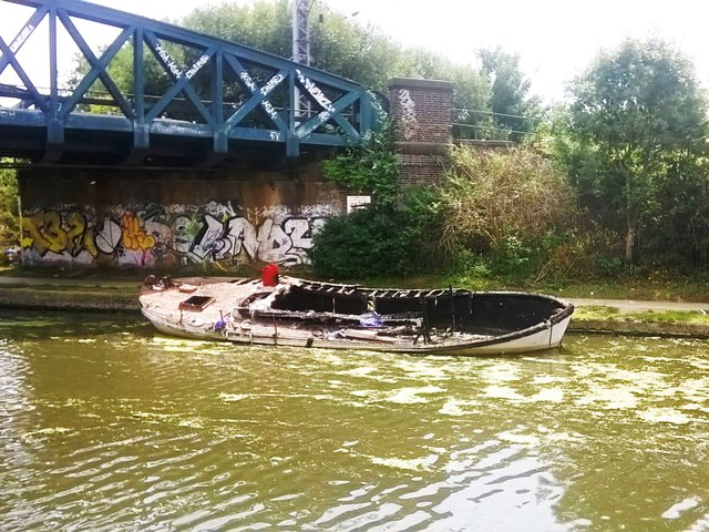 Vandalism On The Grand Union Canal