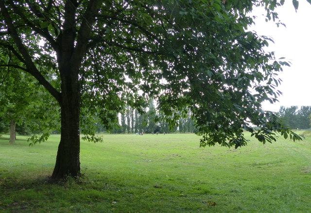 Playing fields on Brighton Avenue, Leicester