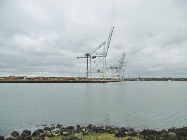 Southampton Docks, crane