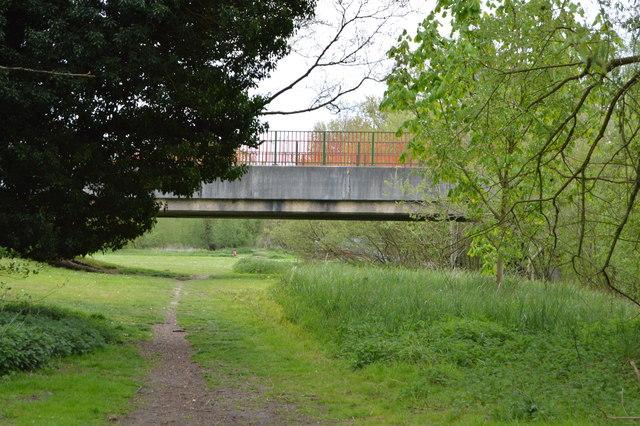 Bridge over Little Ouse Path