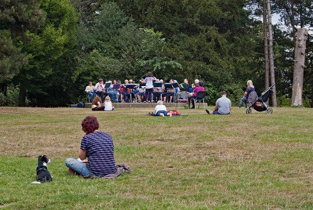 """The Palace Band"", The Grove, Alexandra Park"
