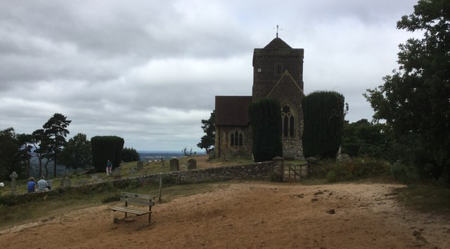 The Church on St Martha's Hill