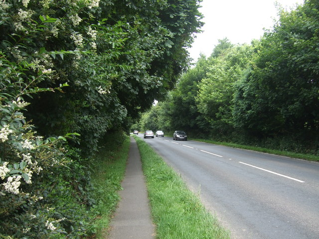 Path beside the A30
