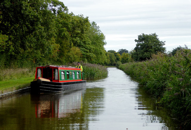Llangollen Canal near Willey Moor in Cheshire