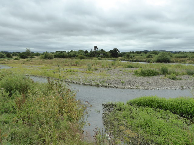At Dolydd Hafren Nature Reserve near Berriew