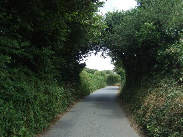 Canopy over minor road, Longrock