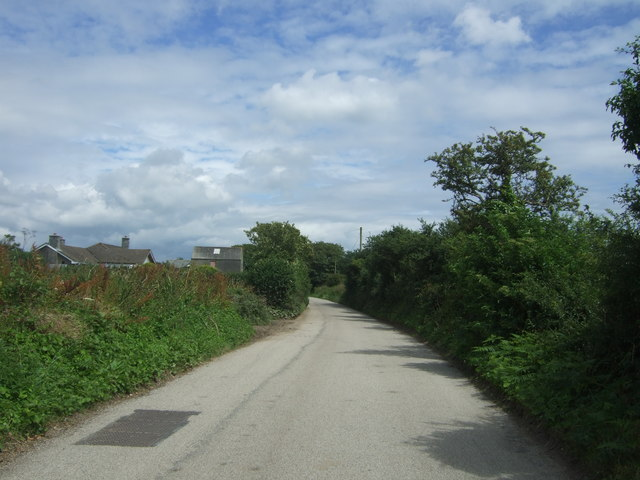 Minor road towards Crowlas