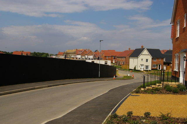 Prior's Grange development, Saxmundham