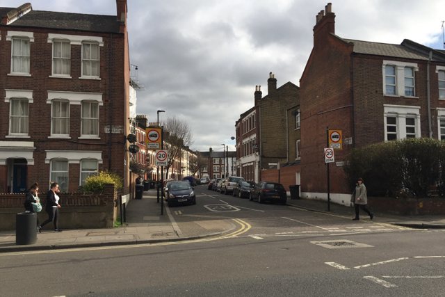 Northlands Street, Camberwell, south London
