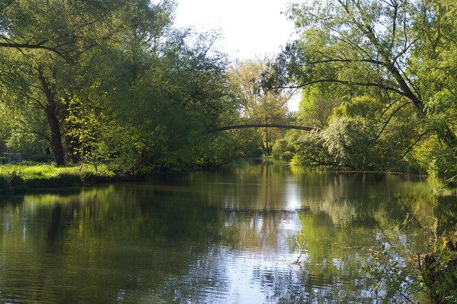 High Bridge over the Cherwell, University Parks, Oxford