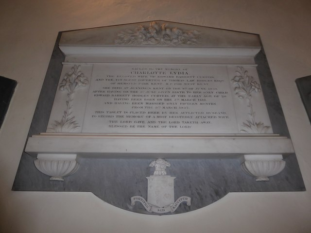 St Mary Magdalene, Wartling: memorial (xi)