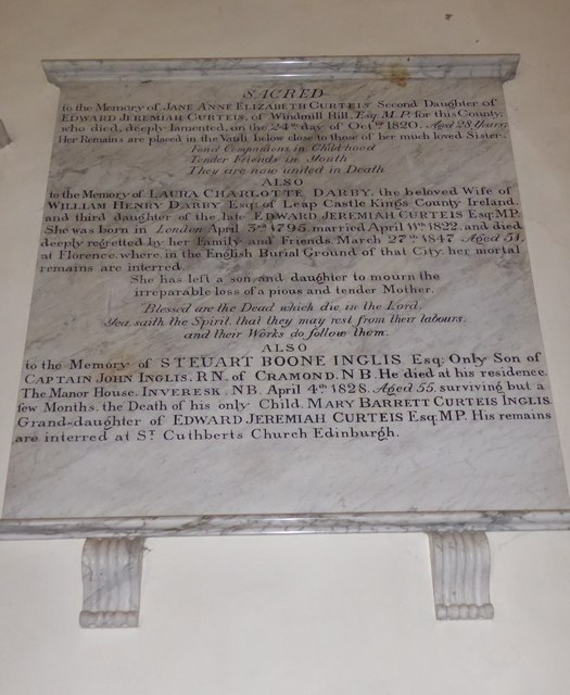 St Mary Magdalene, Wartling: memorial (xiii)