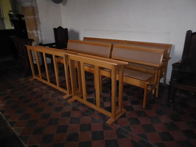 St Mary Magdalene, Wartling: choir stalls