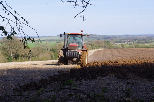 Ploughing the Stubble