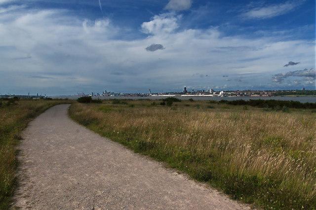 Mersey View Walk in Port Sunlight River Park