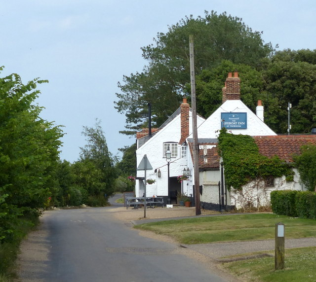 The Lifeboat Inn at Thornham