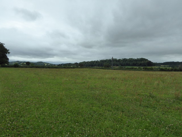 Burial mound in a field near the River Severn