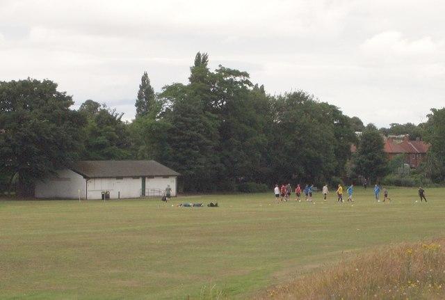 Racecourse Recreation Ground, Mansfield, Notts.