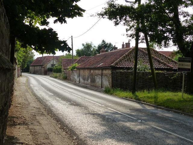 The Main Road at Holme next the Sea