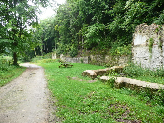 Remains of stables, Woodchester Park