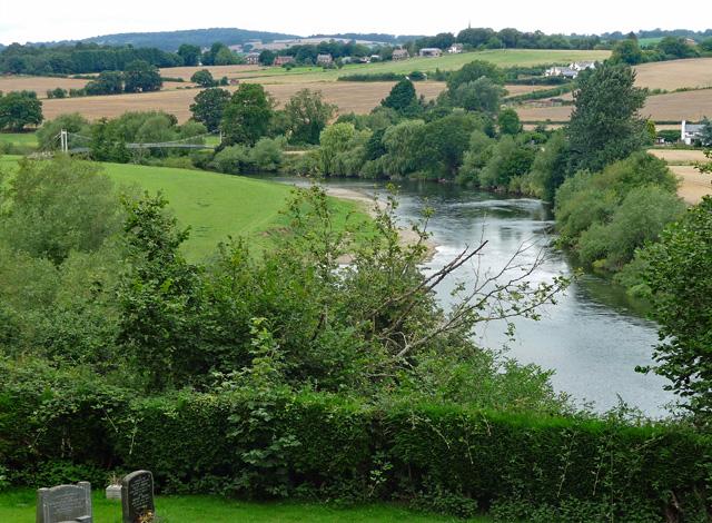 River Wye near Sellack