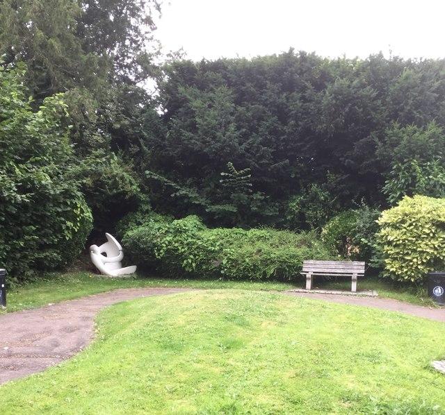 Sculpture at Bramley Park