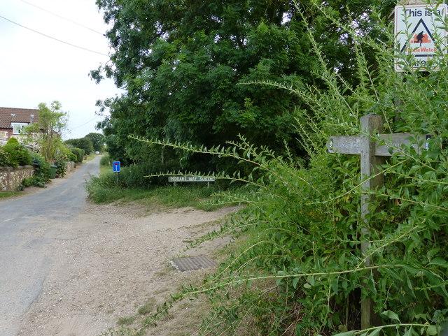 The Peddars Way at Ringstead