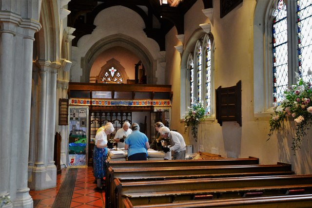 Chenies, St. Michael's Church: Bell ringing practice