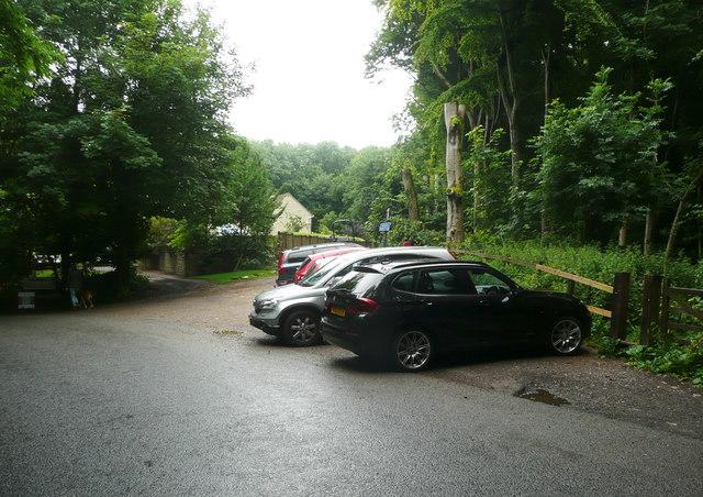 Car park for Standish Wood, Randwick