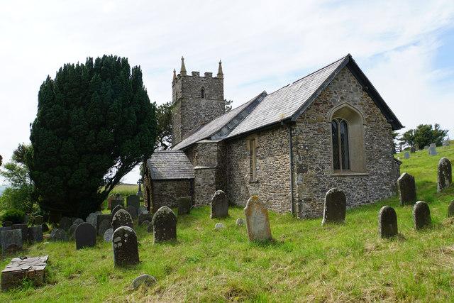 St John the Evangelist, Countisbury