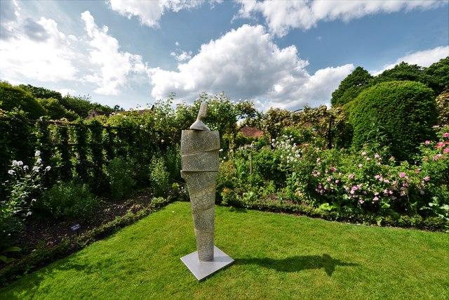 Chenies Manor House: Garden sculpture 2