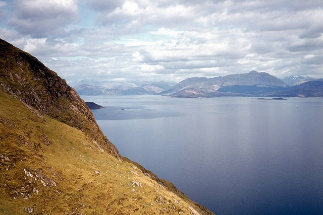 Steep slopes above Loch Linnhe
