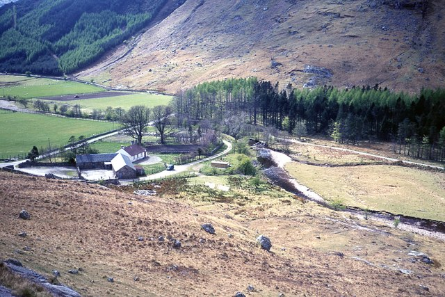 Glengalmadale from above