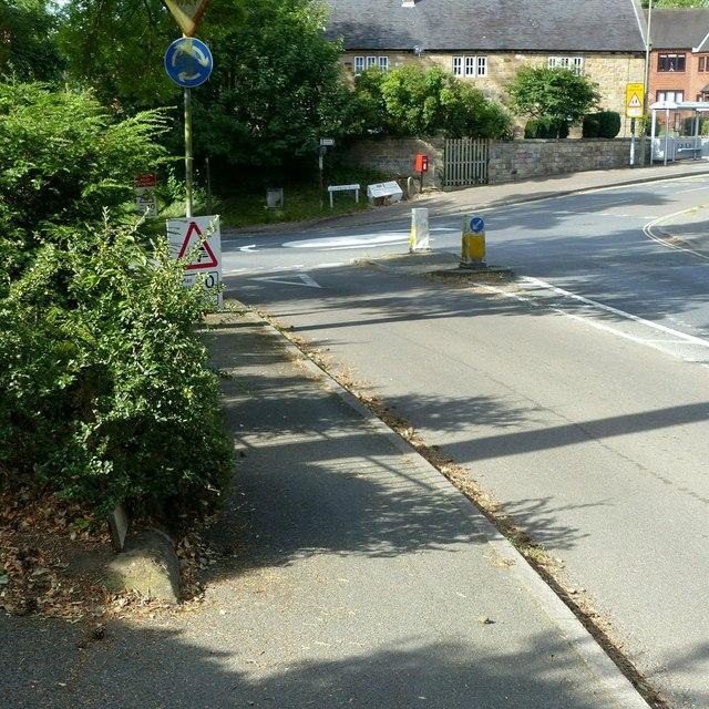 Junction of Church Street with Highfield Road, Kilburn