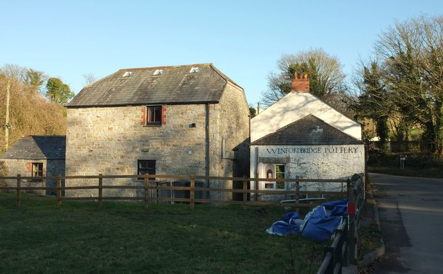 Former pottery, Wenfordbridge