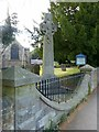 SK3946 : War memorial in Denby churchyard by Alan Murray-Rust
