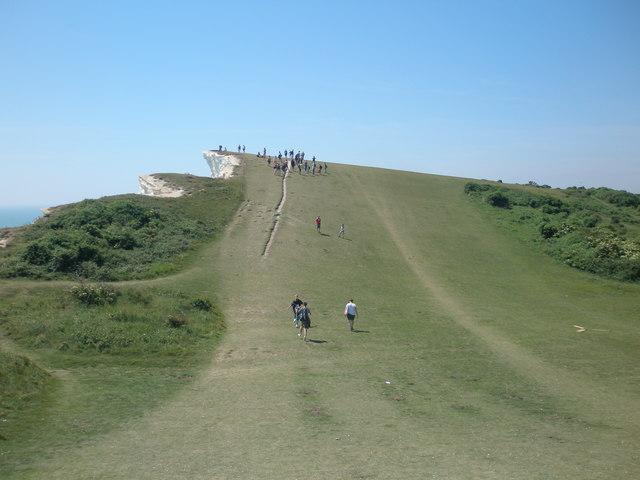 Path erosion at Shooters Bottom