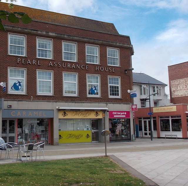 Pearl Assurance House, 17-18 Strand Exmouth