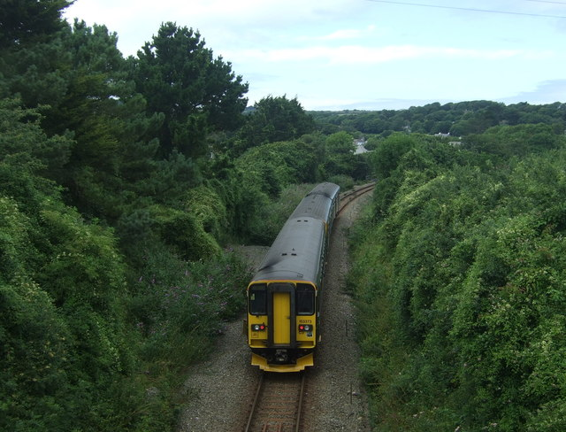 GWR train heading for St Ives