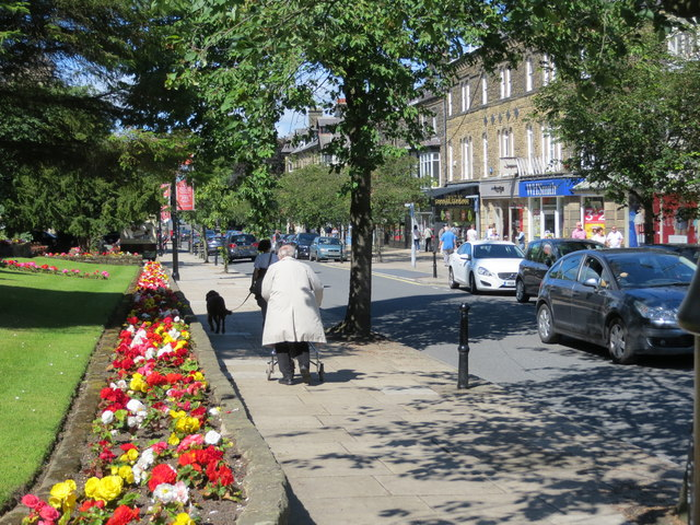 Summertime on The Grove in Ilkley
