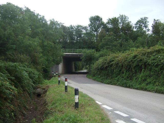 A30 bridge over Chenhalls Road