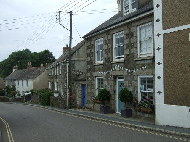 Houses on Fore Street, Marazion