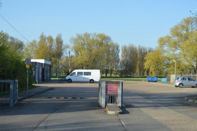 Car park, The Marsh Academy