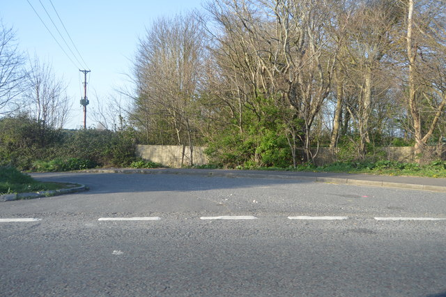 The old course of the A259