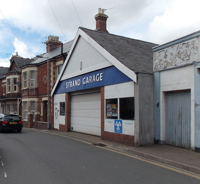 Strand Garage in Exmouth