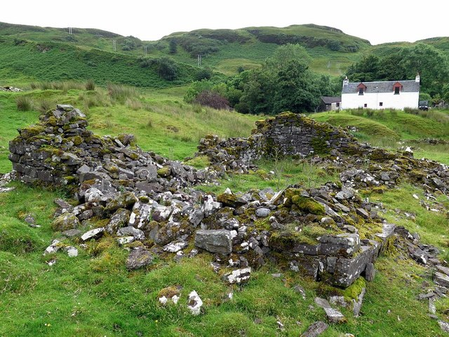 Ruins north of Barnabuck, Kerrera