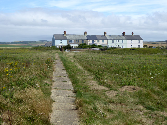 Coastguard cottages, Atherfield Point