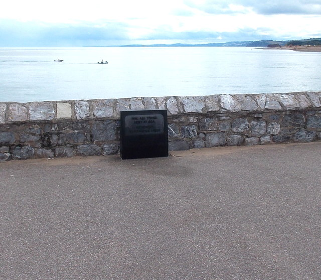 For All Those Lost at Sea memorial, Exmouth